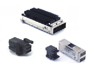 ZSFP+, ZQSFP+, CFP2, MINI SAS HD Cage and Connector