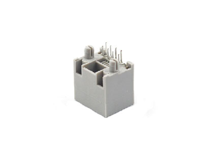 8p8c vertical rj45 female socket with LED light