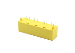 Plastic 180 degree 8P rj45 ethernet jack 1x4