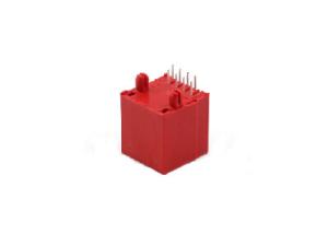 Plastic 8P8C/8P4C rj45 modular jack female connector