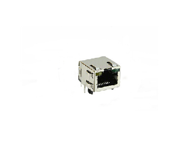100 BASE-TX RJ45 connector with transformer