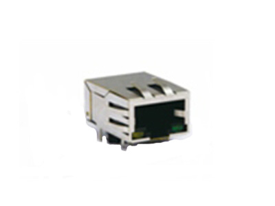 10/100 Base-T RJ45 Magnetic Modular Jack with shield and EMI