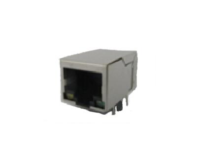 1000base t connector magnetic modular jack