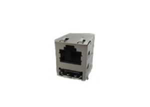 100BASE-T RJ45 HDMI connector with transformer