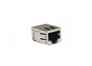 100BASE-T RJ45 SMT connector with transformer