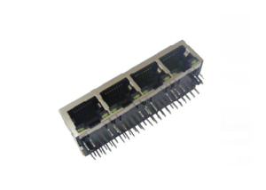 4 ports 10/100/1000 Base-T rj45 with magnetics
