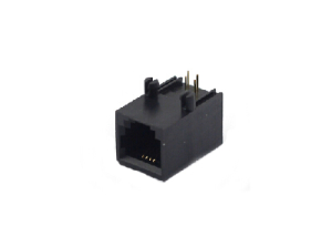 unshielded 6P PCB mount RJ11 modular jack connector