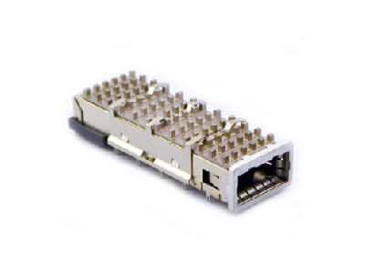 Press-Fit XFP 1x1 Cage with Heat Sink