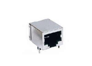 RJ45 connector with 100Base-T Integrated Magnetics