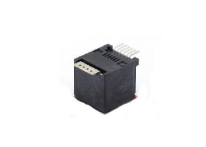 1x1 RJ11 6P6C SMT modular jack connectors