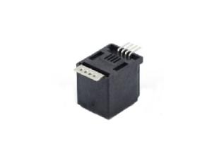 RJ22 4P4C SMT modular jack connector