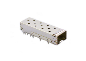SFP+ 1x1 Cage with EMI Clip