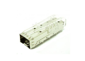 SFP+ 1x1 Cage with light guides