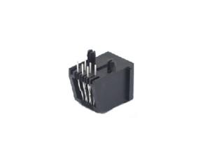 RJ11 pcb connector left position jack