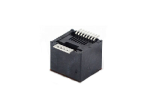 RJ45 180 degree SMT modular jack connector