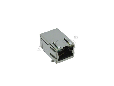 tab up 10/100 BASE-T RJ45 Magnetic Modular Jack