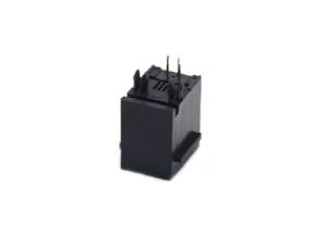 PCB mount RJ22 4P4C modular jack with insert