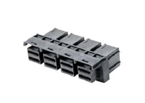 Mini SAS HD INT PCB Female Connector 1x4 Dip Type